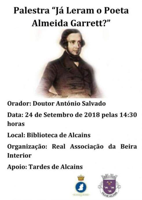 Poeta Almeida Garrett
