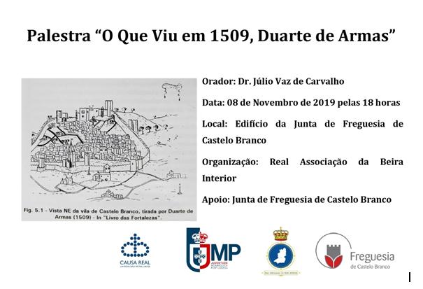 Palestra 1509 Duarte de Armas