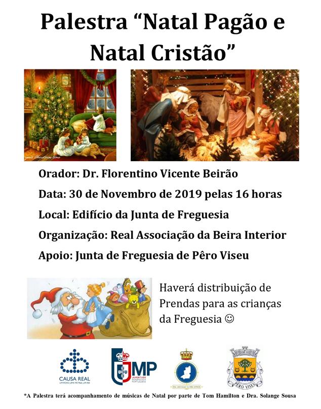 Palestra Natal Pagão e Natal Cristão